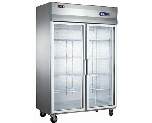 双门玻璃冷柜